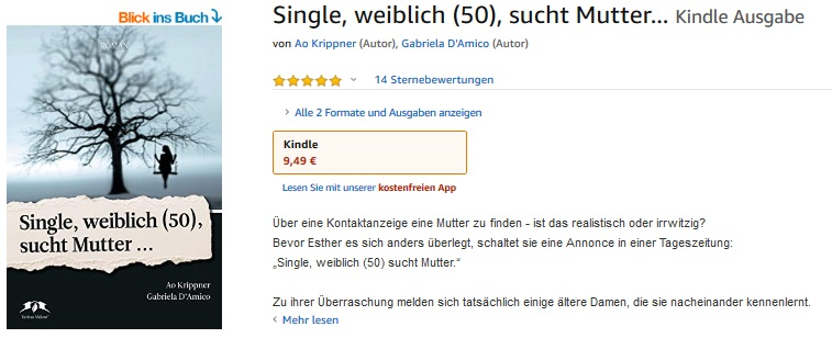 E-Book für Kindle bei Amazon